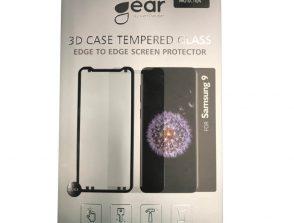 GEAR Härdat Glas 3D Full Cover Svart Samsung S9 inkl. Monteringsram