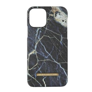 ONSALA COLLECTION Mobilskal Soft Black Galaxy Marble iPhone 11 Pro