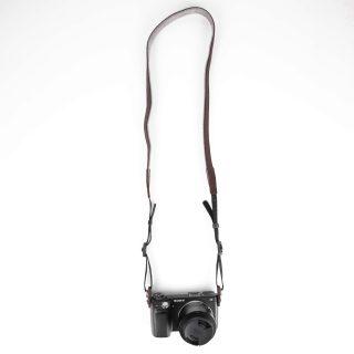 BUFFALO Kamerarem 16mm Classic Brun Läder