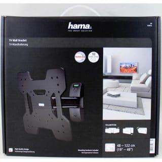 HAMA Väggfäste Premium 1arm Vesa 200×200 Svart