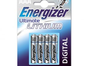 Batteri AAA/LR03 Ultimate Lithium 4-pack