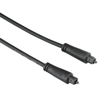HAMA Kabel Audio Optisk Svart 3m