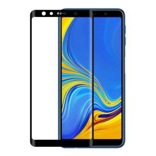 GEAR Härdat Glas 3D Full Cover Svart Samsung Galaxy A7