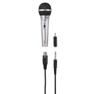 THOMSON Mikrofon M151 Dynamisk Silver, XLR Kontakt