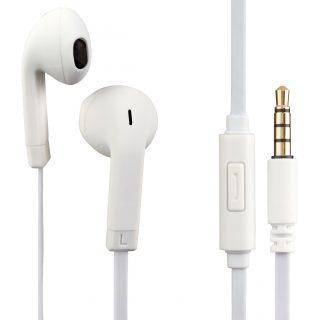 HAMA Hörlur In-Ear Fun+Phone Mic Vit