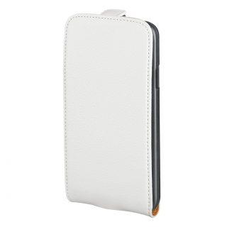 HAMA Mobilväska Flip-Front iPhone6/6S Läder Vit