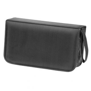 HAMA CD Bag Nylon Black For 120 CD