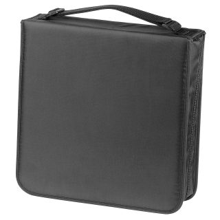 HAMA CD Bag Nylon Black For 208 CD