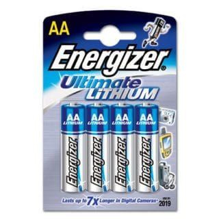 AA/LR6 Ultimate Lithium 4-pack