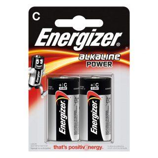 ENERGIZER Batteri C/LR14 Alkaline Power 2-pack