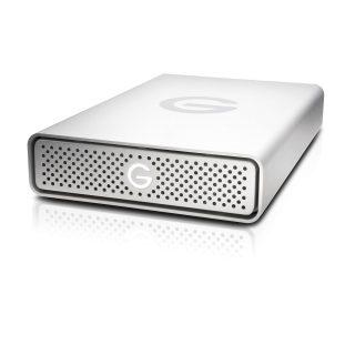 GTECH Extern HDD USB-C 10TB Silver