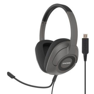Headset SB42 USB Over-Ear Mic Remote Svart