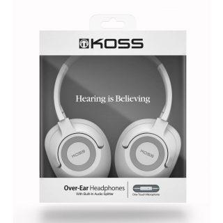 KOSS Headphone UR42iW Over-Ear White Mic