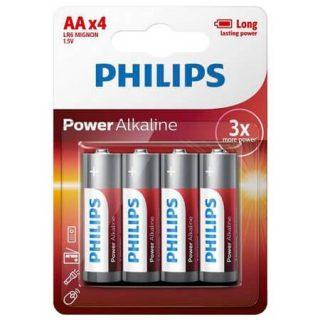 Batteri Alkaliska LR6/AA 4-pack