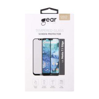 GEAR Härdat Glas 2.5D Nokia 7.1 Plus