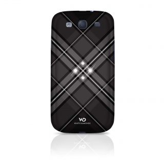 Grid Mobile Phone Cover for S amsung Galaxy S III, black