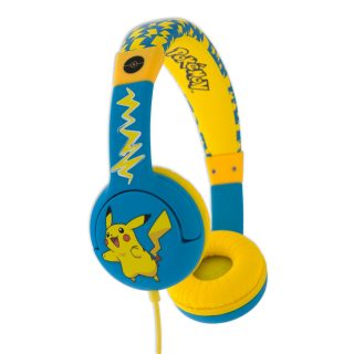 POKEMON Hörlur Junior On-Ear 85dB Pikachu