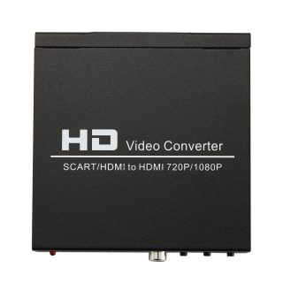 NORTH SCART+HDMI till HDMI HD Converter och Switch Svart
