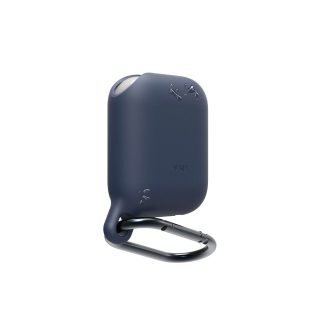 ELAGO Protective Case for Airpod Waterproof with Hangers Blue