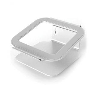 DESIRE2 Laptopställ Riser Elevator Justerbar Universal Silver