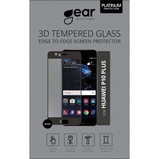 GEAR Härdat Glas 3D Full Cover Svart Huawei P9