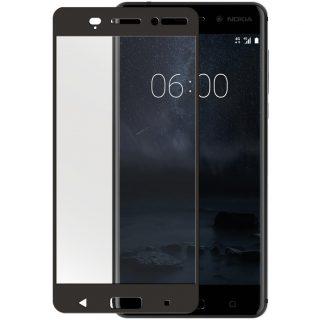 GEAR Härdat Glas 3D Full Cover Svart Nokia 6 2017