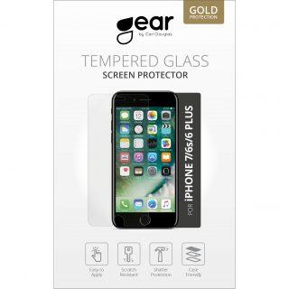 GEAR Härdat Glas 2.5D iPhone6/7/8 Plus