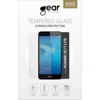 GEAR Härdat Glas 2.5D Huawei Honor 5C/7 Lite
