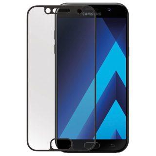 GEAR Härdat Glas 3D Full Cover Svart Samsung A3 (2017)