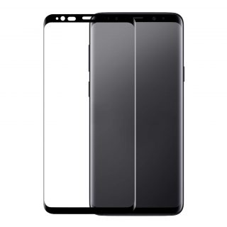 GEAR Glass Prot. 3D Samsung Note 9 Edge to Edge Black