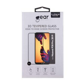 GEAR Härdat Glas 3D Full Cover Svart Huawei P30 Pro 2019