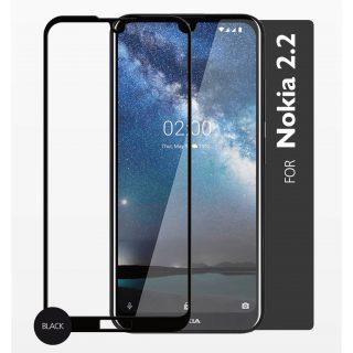 GEAR Härdat Glas 2,5D Full Cover Nokia 2.2