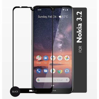 GEAR Tempered Glass 2.5D Full Cover Nokia 3.2