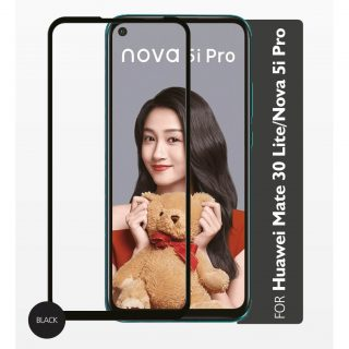 GEAR Härdat Glas 2,5D Full Cover Huawei mate 30 Pro