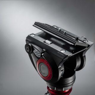 MANFROTTO Videohuvud MVH500AH Flatbase