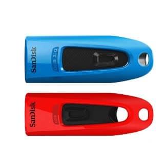 SANDISK USB-minne 3.0 Ultra Flash Drive 32GB 2-pack