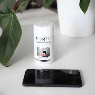 NORTH Rengöringsdukar för Mobil och Tablet 100-pack