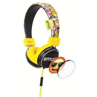 EMOJI Hörlur Flip 'N Switch Gul On Ear Universal 85dB
